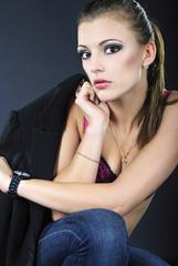 beautiful girl model