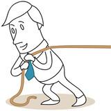 Geschäftsmann, Seil 1