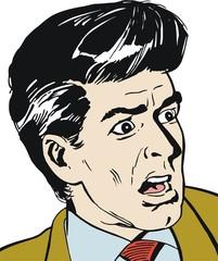 Ilustracion de un hombre de negocios