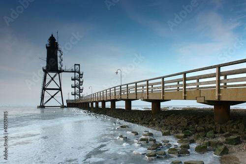 Foto op Canvas Noordzee Eiszeit - Dorum 06.02.2012 (5)