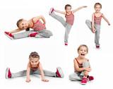 Fototapety girl gymnast