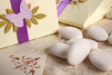 confetti e bomboniera