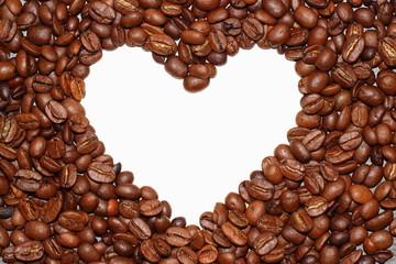 Kaffebohnenherz