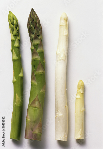 Four Assorted Asparagus Spears