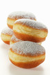 Doughnuts with icing sugar