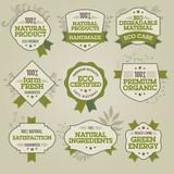 Set of natural labels