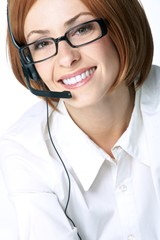 call center portrait