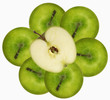 Several 'Granny Smith' apples