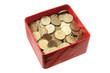 Coins in Tin Box