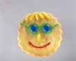 Decorated biscuit (boy's face)