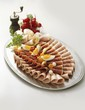 Sausage and ham platter