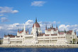 Budapest: Hungarian Parliament And Blue Danube