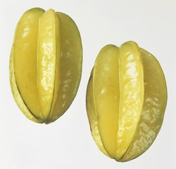 Two star fruits