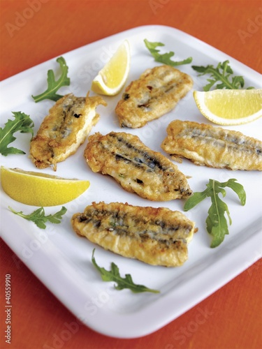 Alici ripiene (Stuffed anchovies)
