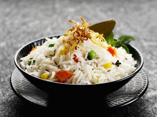 Vegetarian rice dish