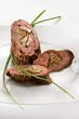 Beef roulade with ceps