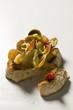Bruschetta with clams