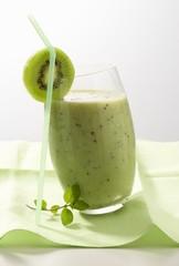 Kiwi fruit shake