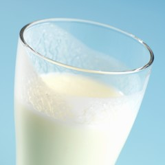 Buttermilk in a glass