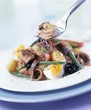 Salade niçoise with tuna and anchovies