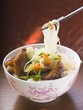 Glass noodles with roast duck breast and vegetables (Asia)