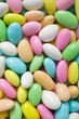 Sugared almonds (full-frame)