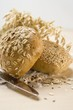 Sesame roll & wholemeal roll with oat flakes, cereal ears