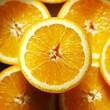 Orange halves (overhead view)