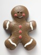Chocolate-coated gingerbread man
