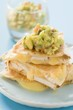 Chicken quesadillas with guacamole (Mexico)