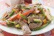 Stir-fried beef with peppers (Asia)