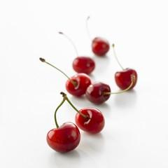 Several cherries