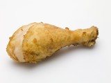 Breaded chicken drumstick