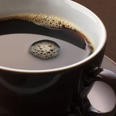Cup of espresso (close-up)