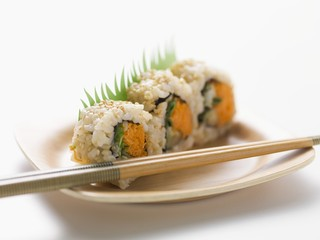 Vegetable inside-out rolls