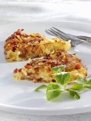 Potato and bacon rösti