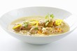 Klachelsuppe (Soup made with knuckle of pork & root vegetables, Styria)