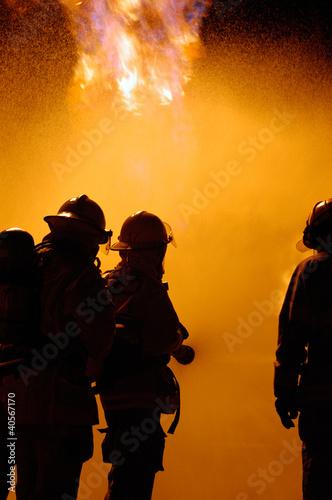 fire teamwork