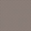 Vector seamless pattern white polka dots on brown background