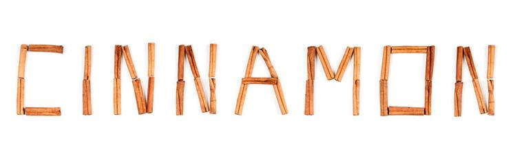 Cinnamon text