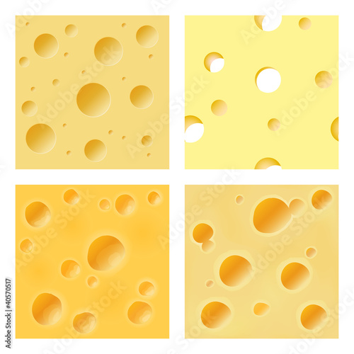 Seamless cheese matrix