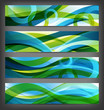 set of abstract banners / backgrounds