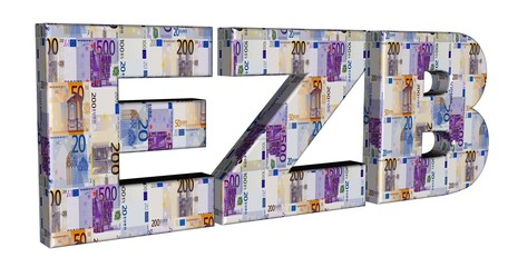 3D Geldschrift - EZB