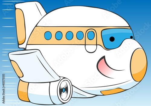 飞机送快递的动画片