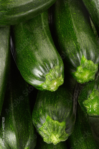 Fresh zucchini background