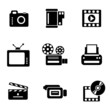 icons of photo and video