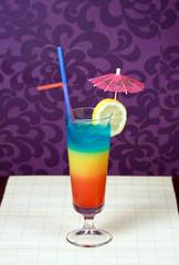 Tricolor Cocktail
