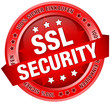 "Button Banner ""SSL Security"" rot"