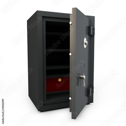 3d open safe box