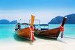 national Thailands boat at islands